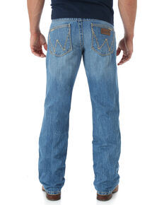 Wrangler Retro San Antonio Bootcut Jeans - Relaxed Fit - Big and Tall, Lt Denim, hi-res