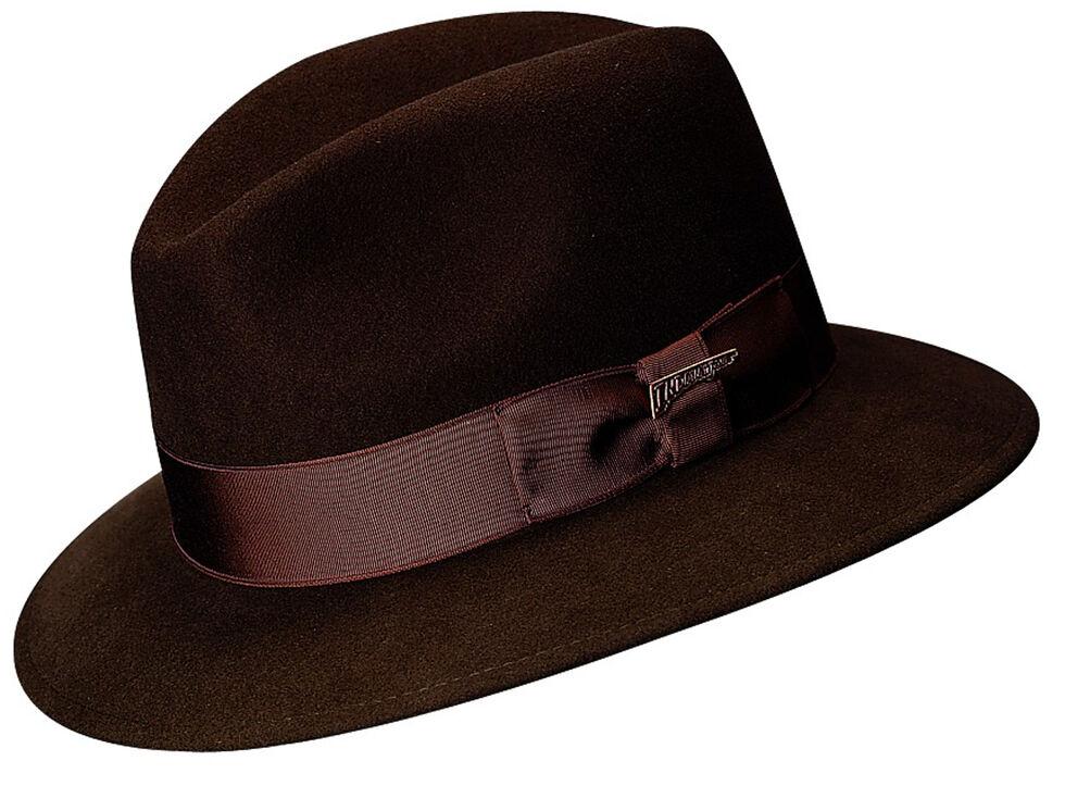7d424e9cd1e09 Scala Men s Brown Wool Felt Safari Hat - Country Outfitter