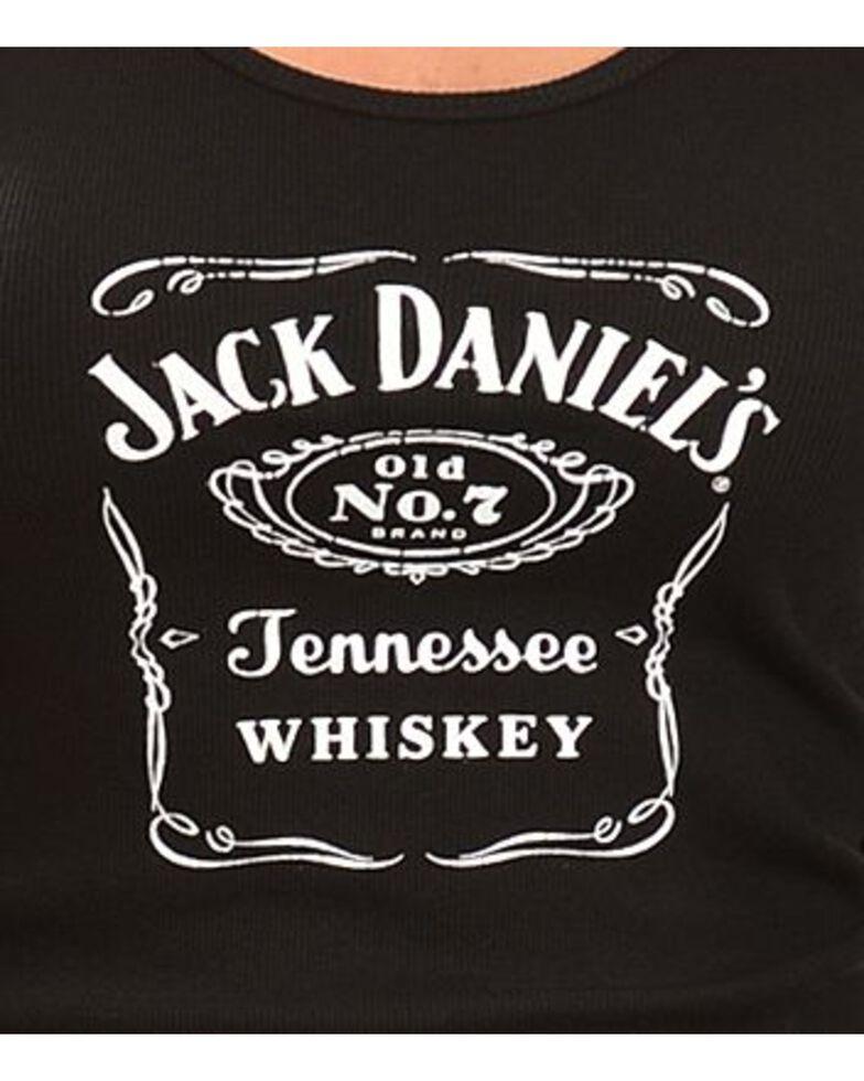 Jack Daniel's Black Racerback Tank Top, Black, hi-res