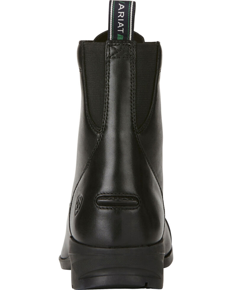 Ariat Women's Black Heritage IV Paddock Boots - Round Toe , Black, hi-res