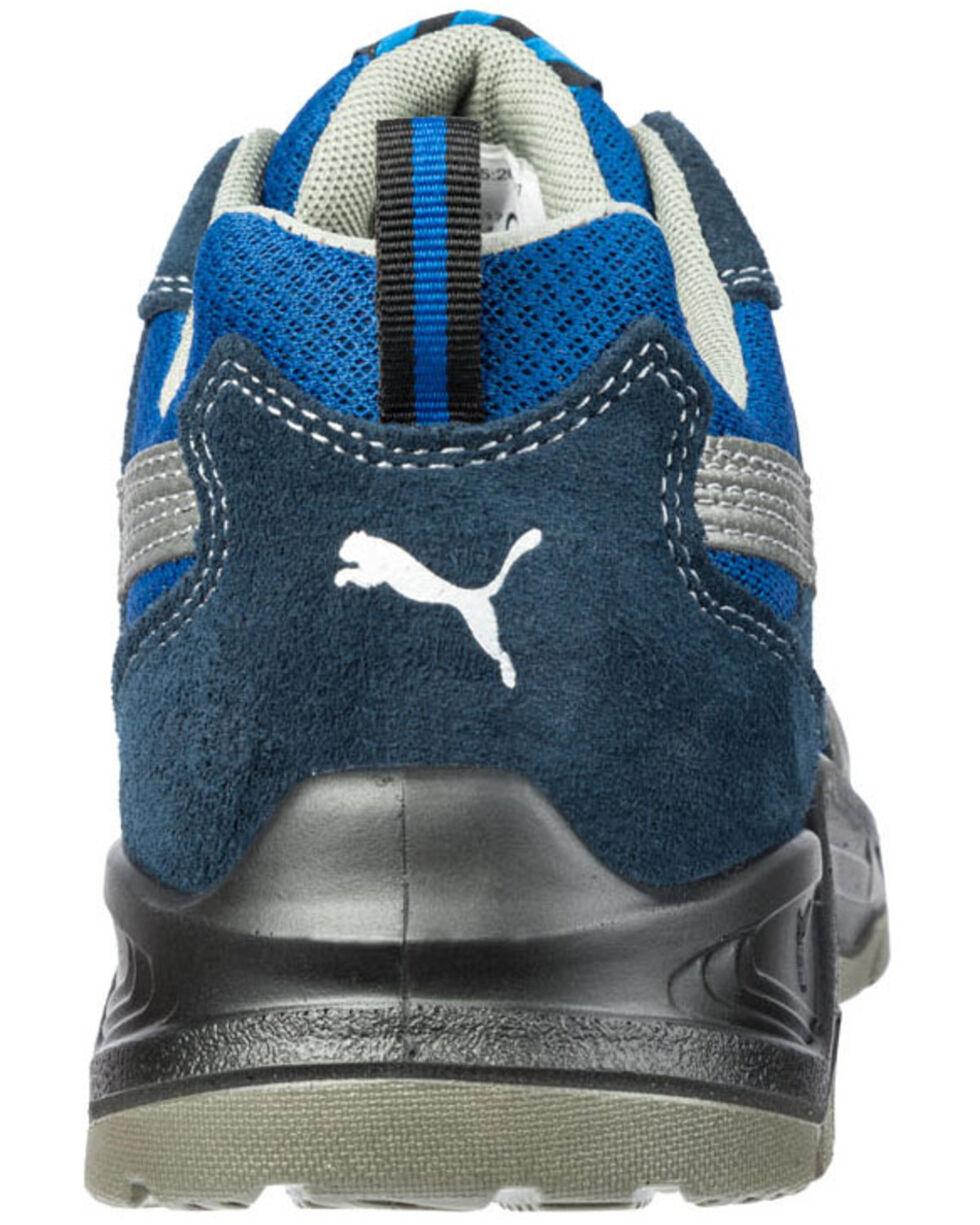 Puma Men's Omni Safety Shoes - Steel Toe, Blue, hi-res