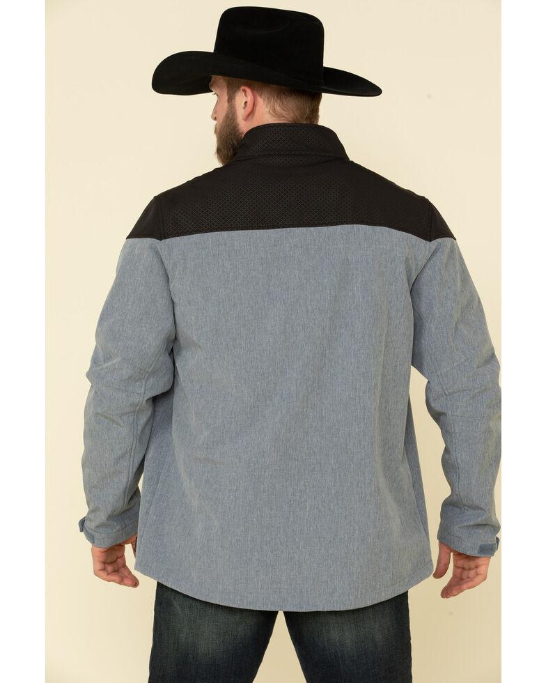 Cody James Core Men's Cascade Colorblock Zip-Front Softshell Jacket , Blue, hi-res