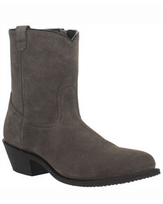 Dingo Men's Bucktown Western Boots - Round Toe, Grey, hi-res
