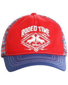 Dale Brisby Men's Rodeo Time Trucker Cap, Blue, hi-res