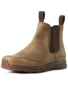 Ariat Men's Spitfire Bomber Boots - Round Toe, Brown, hi-res