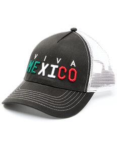 Cody James Men's Viva Mexico Embroidered Mesh-Back Ball Cap , Black, hi-res