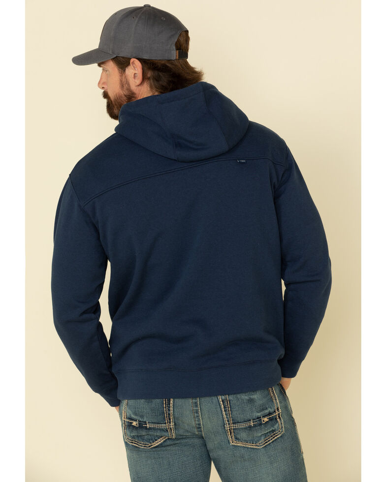 HOOey Men's Navy Patriot Graphic Hooded Sweatshirt , Navy, hi-res