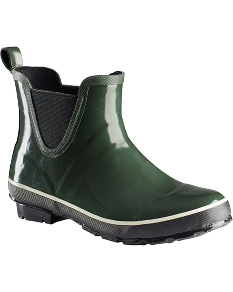 Baffin Women's Marsh Series Pond Mid Boots - Round Toe, Green, hi-res
