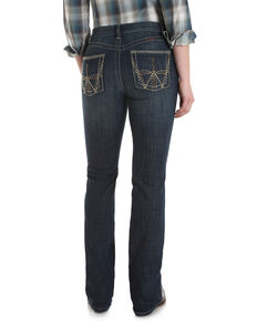 Wrangler Women's Dry Creek Q Baby Ultimate Riding Bootcut Jeans, Blue, hi-res