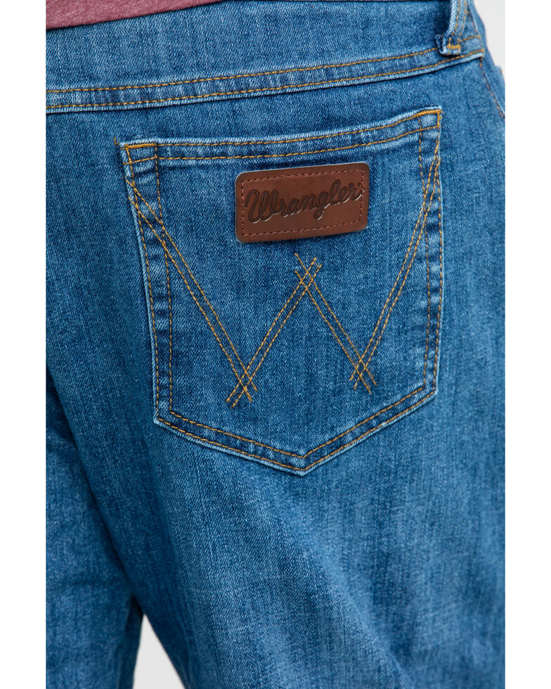 Wrangler 20X Men's Admiral Blue Relaxed Competition Bootcut Jeans  , Blue, hi-res