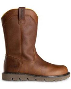DeWalt Men's Flex McAlester Work Boots - Soft Toe, Tan, hi-res