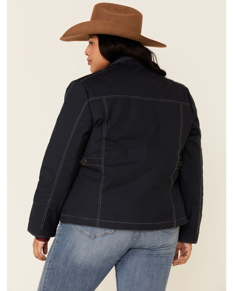 Outback Trading Co. Women's Blue Ridge Lightweight Insulated Jacket - Plus, Blue, hi-res