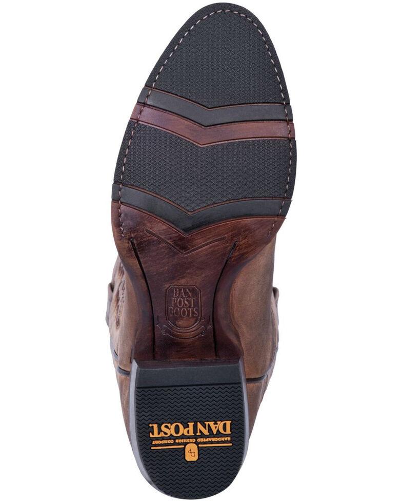 Dan Post Men's Jarrett Western Boots - Round Toe, Chestnut, hi-res