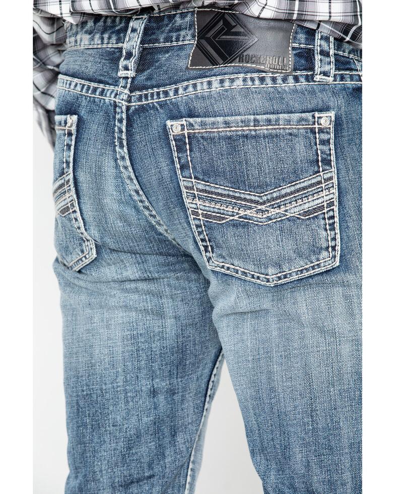 Rock & Roll Cowboy Men's Denim Reflex Revolver Slim Straight Jeans, Blue, hi-res