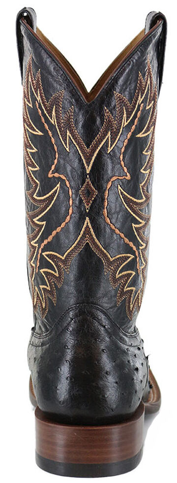 50653042e41 Cody James Men s Full Quill Ostrich Exotic Boots - Wide Square Toe