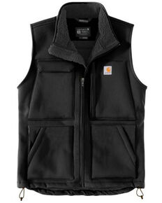 Carhartt Men's Black Super Dux Relaxed Fit Sherpa-Lined Work Vest , Black, hi-res