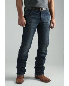 Wrangler Retro Men's Jarrell Premium Slim Straight Jeans , Blue, hi-res