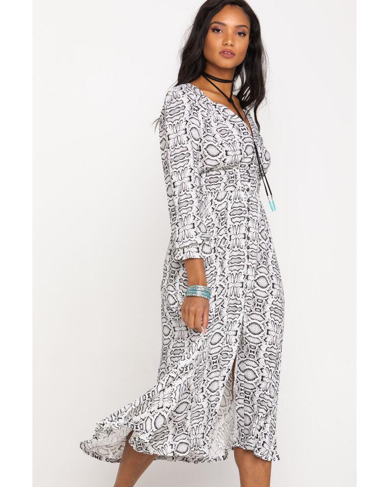 Shyanne Women's Print Maxi Dress, Python, hi-res