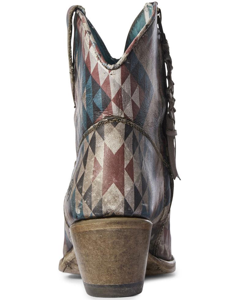 Ariat Women's Aztec Eye Dazzler Western Booties - Snip Toe, Multi, hi-res