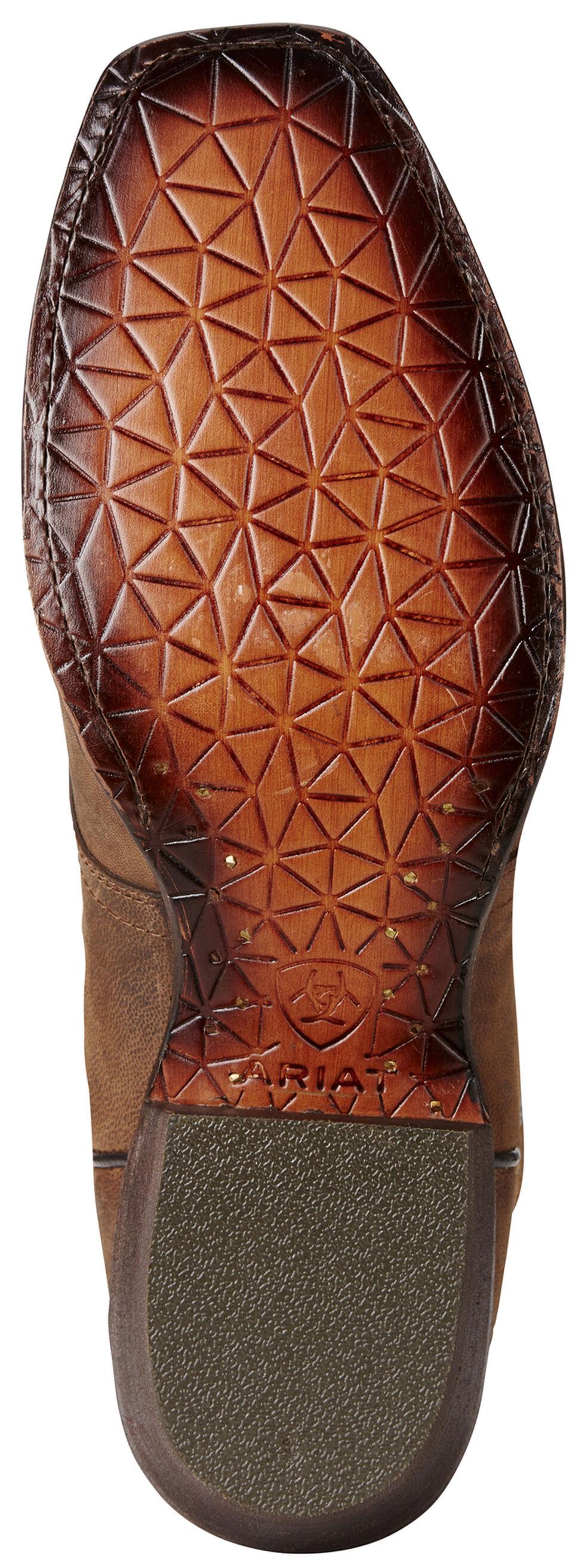 Ariat Men's Circuit Striker Boots - Square Toe, Dark Brown, hi-res