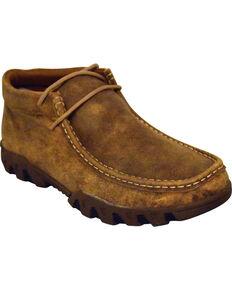 Ferrini Women's Mocha Rough Casual Shoes - Moc Toe, Lt Brown, hi-res
