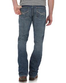 Wrangler 20X Men's No. 42 Vintage Bootcut Jeans, Blue, hi-res
