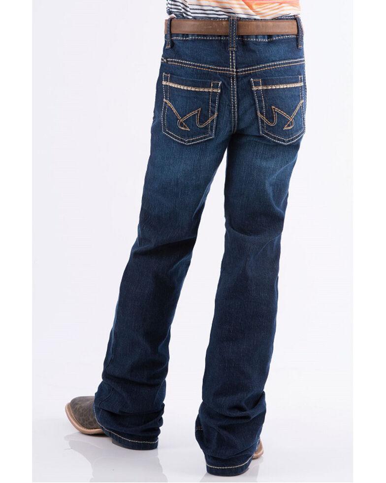 Cruel Girl Girls' (4-6X) Lucy Dark Wash Stretch Slim Bootcut Jeans , Indigo, hi-res