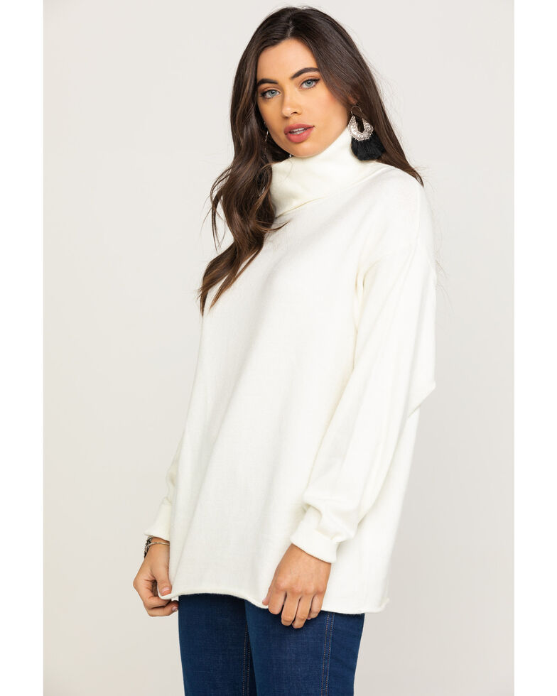 Rag Poets Women's Fort Greene Sweater, Ivory, hi-res