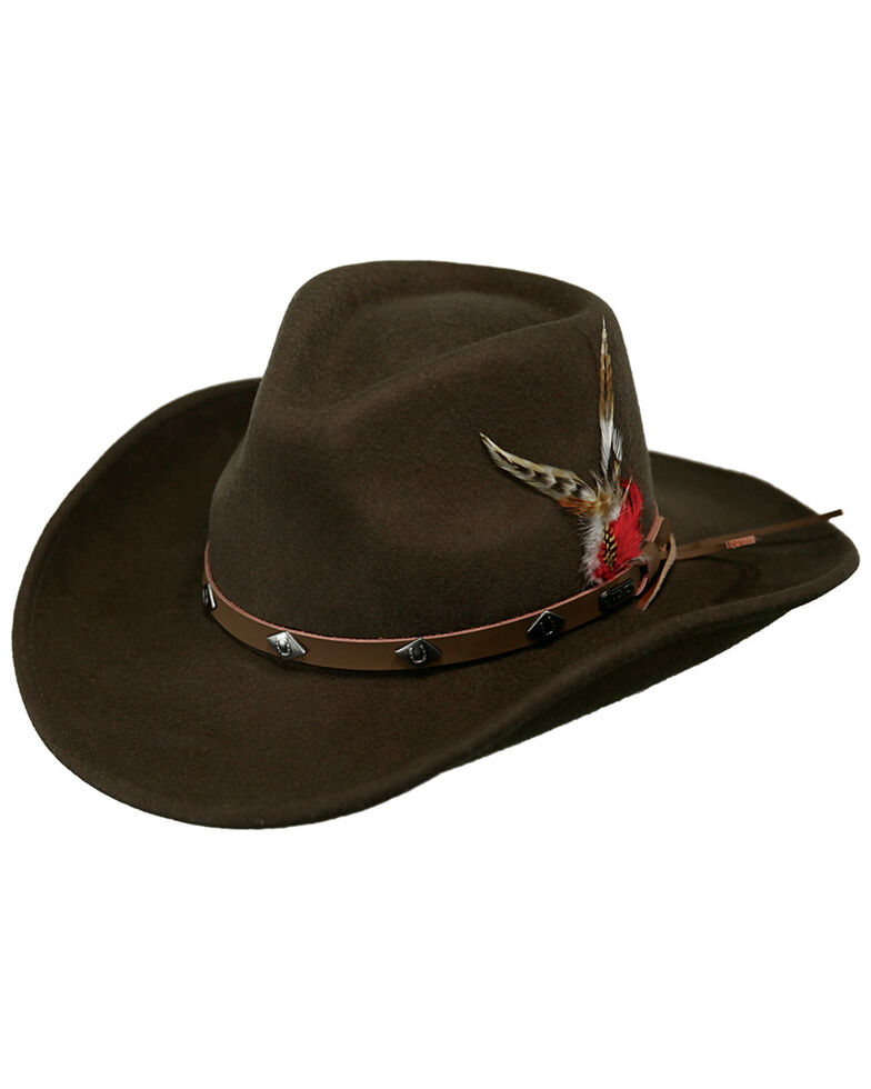 Outback Trading Co. Wide Open Spaces UPF50 Sun Protection Crushable Hat, Serpent, hi-res
