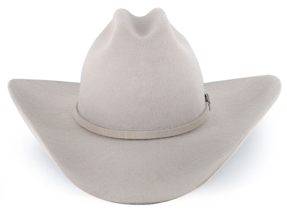 Cody James Moab 3X Pro Rodeo Wool Felt Cowboy Hat, Silverbelly, hi-res