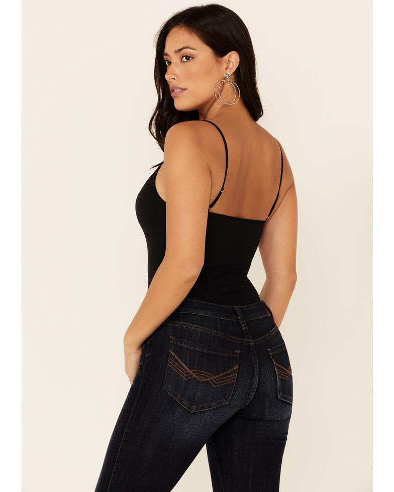 Idyllwind Women's Pretty Bitchin Seamless Cami Bodysuit , Black, hi-res