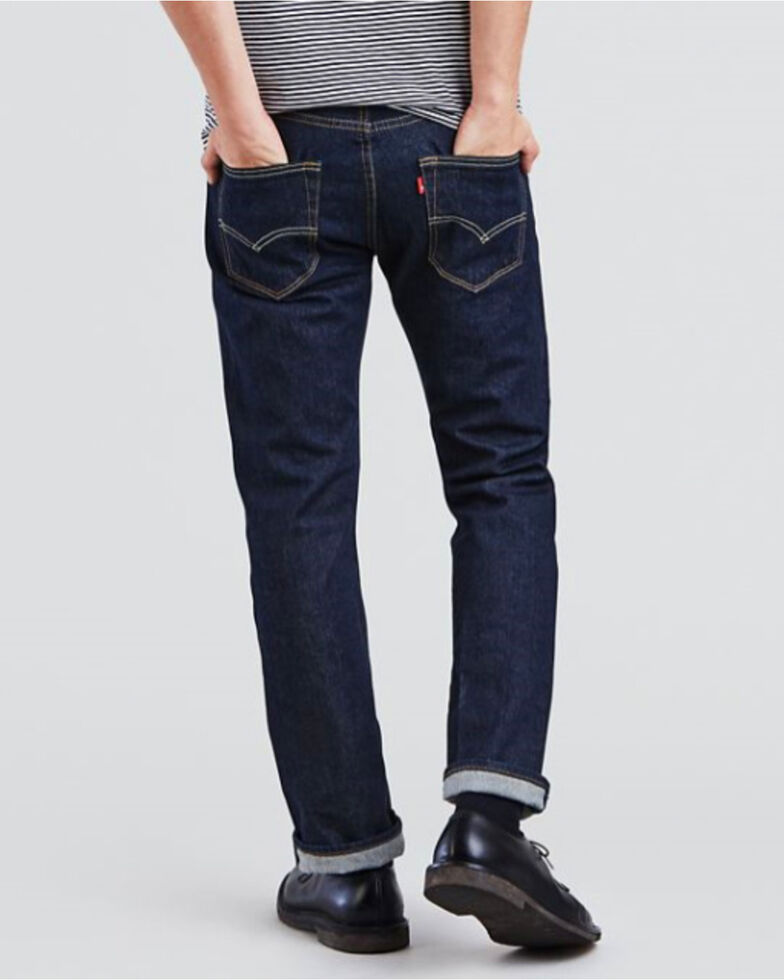 fb644b1b Zoomed Image Levi's Men's 501 Original Fit Stretch Straight Leg Jeans ,  Indigo, hi-res