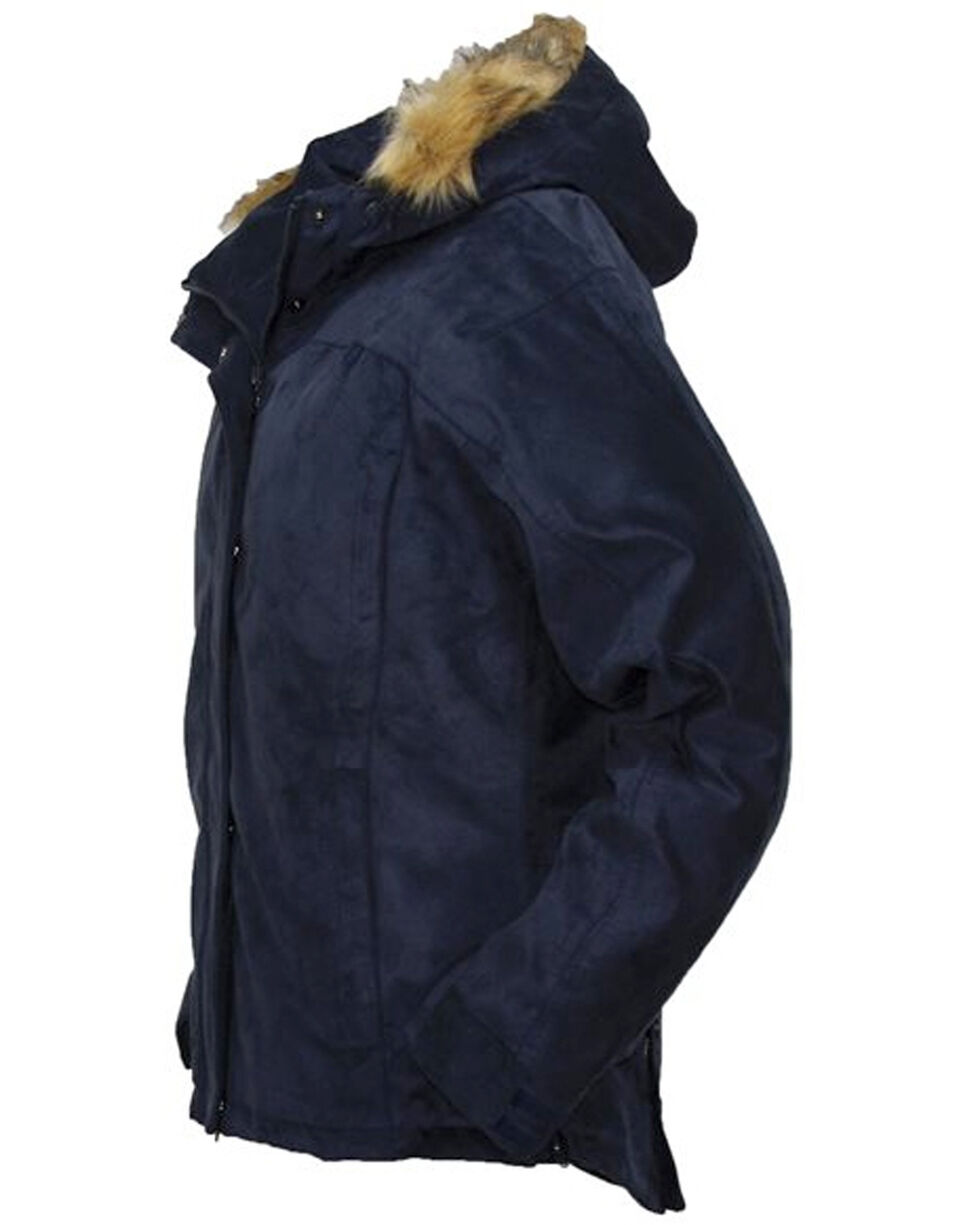 Outback Trading Co. Gold Cup Hooded Jacket, Navy, hi-res
