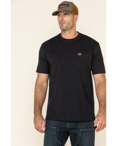 Wrangler Men's Riggs Short Sleeve Pocket T-Shirt, Navy, hi-res