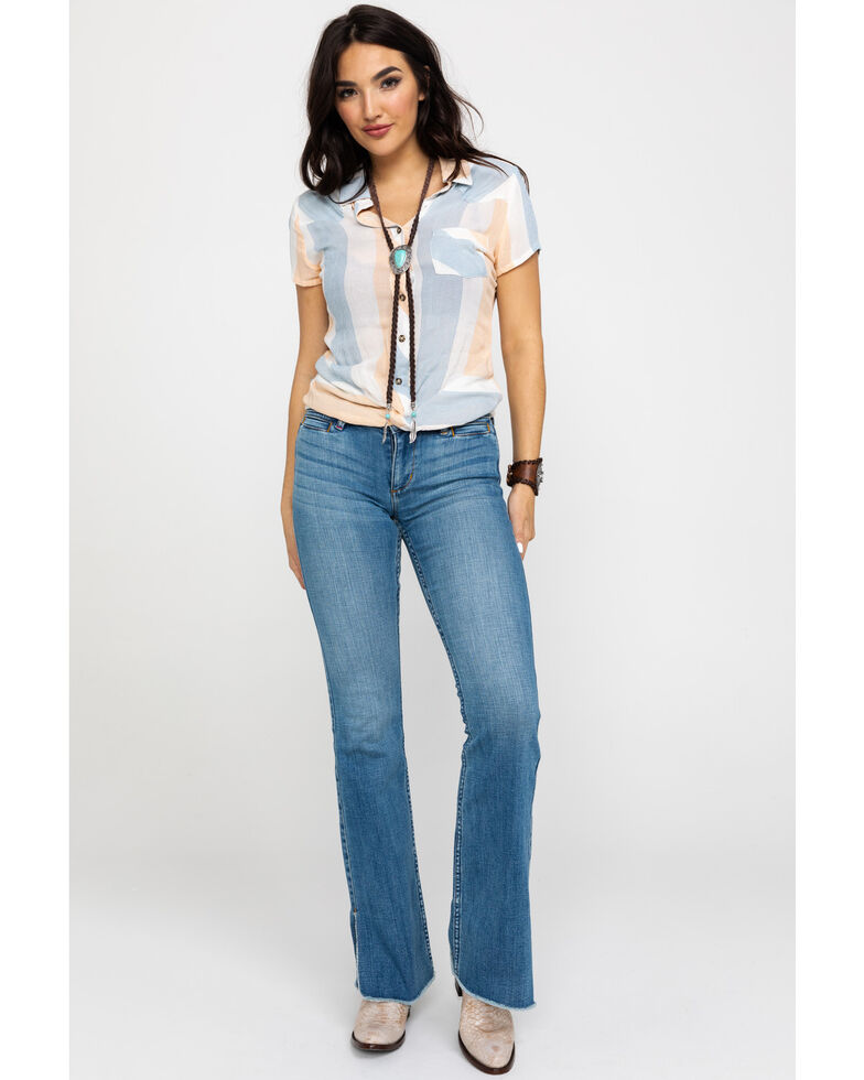 Idyllwind Women's Twisted Thought Top , Multi, hi-res
