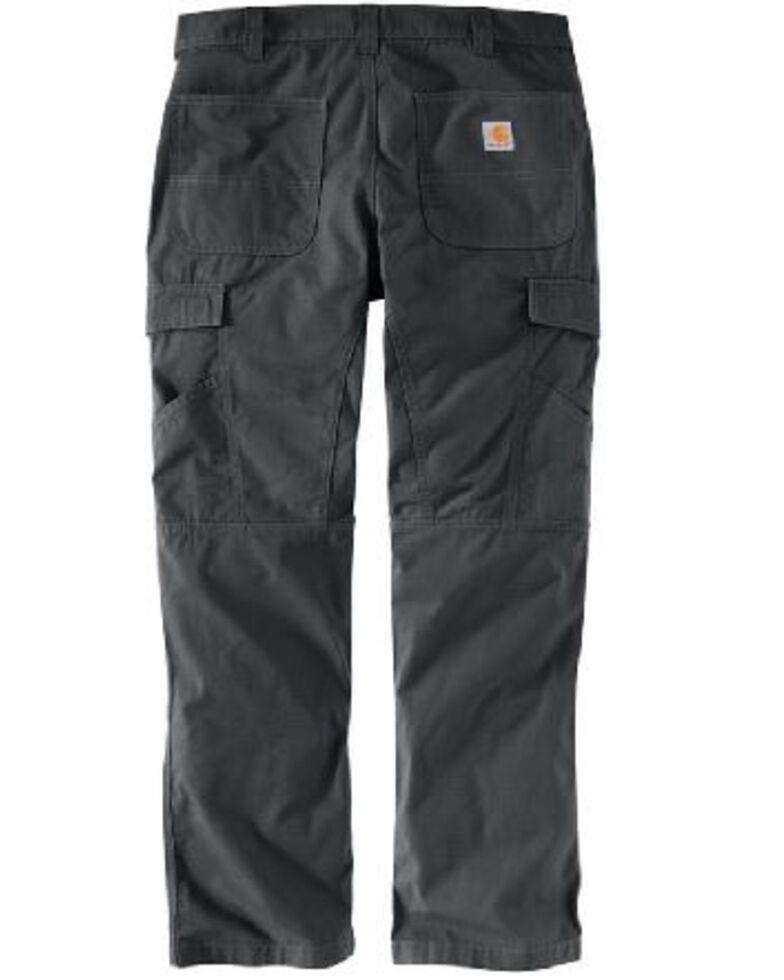 Carhartt Men's Dark Khaki M-Force Broxton Cargo Work Pants , Grey, hi-res