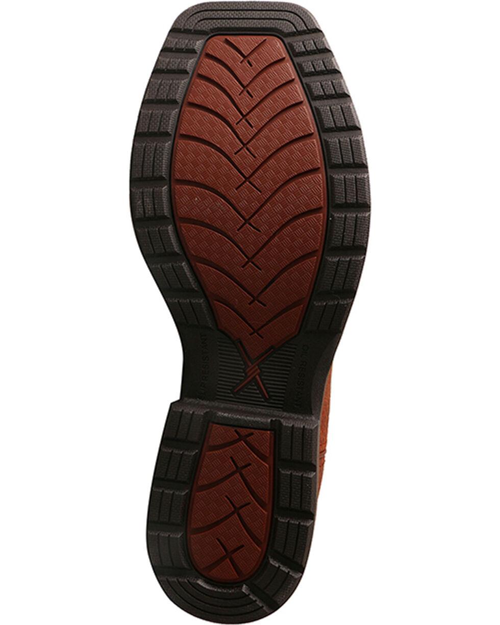 Twisted X Men's Brown Lite Cowboy Work Boots - TWX Steel Toe , Brown, hi-res