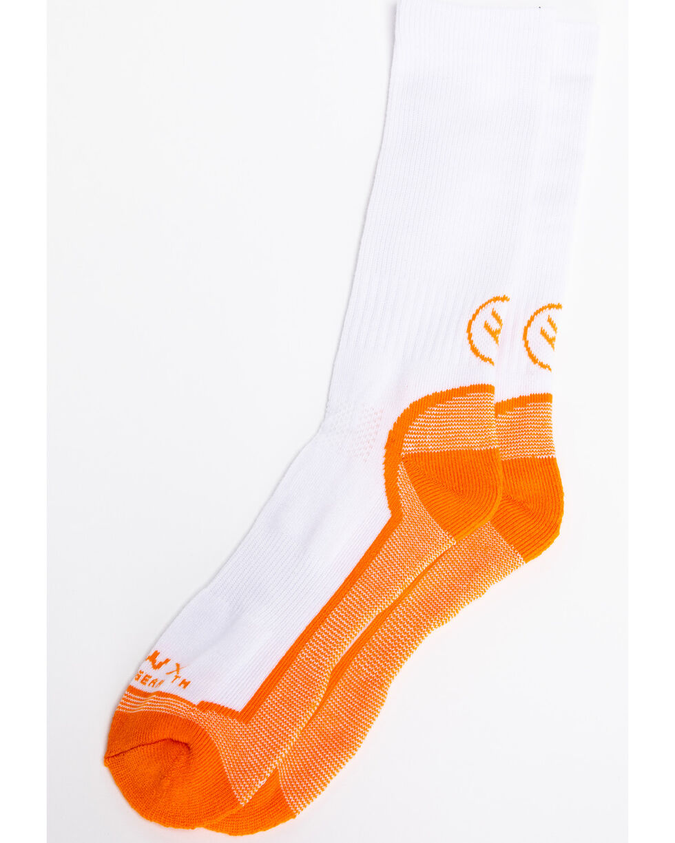 Hawx® Men's 3 Pack Socks, White, hi-res