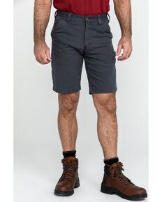 "Carhartt Men's 11"" Rugged Flex Dungaree Rigby Work Shorts , Dark Grey, hi-res"