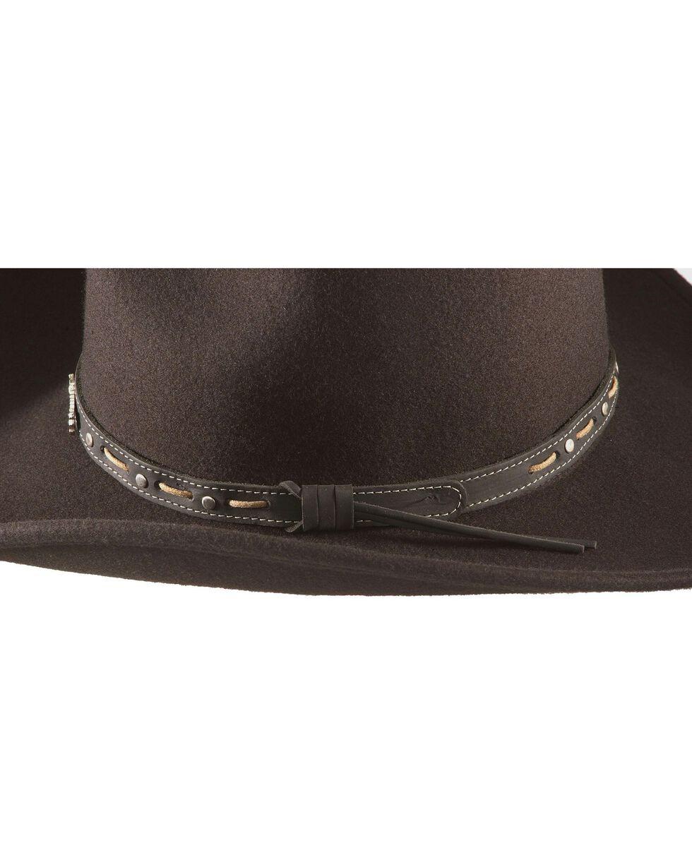 Jack Daniels Crushable Wool Felt Hat, Black, hi-res