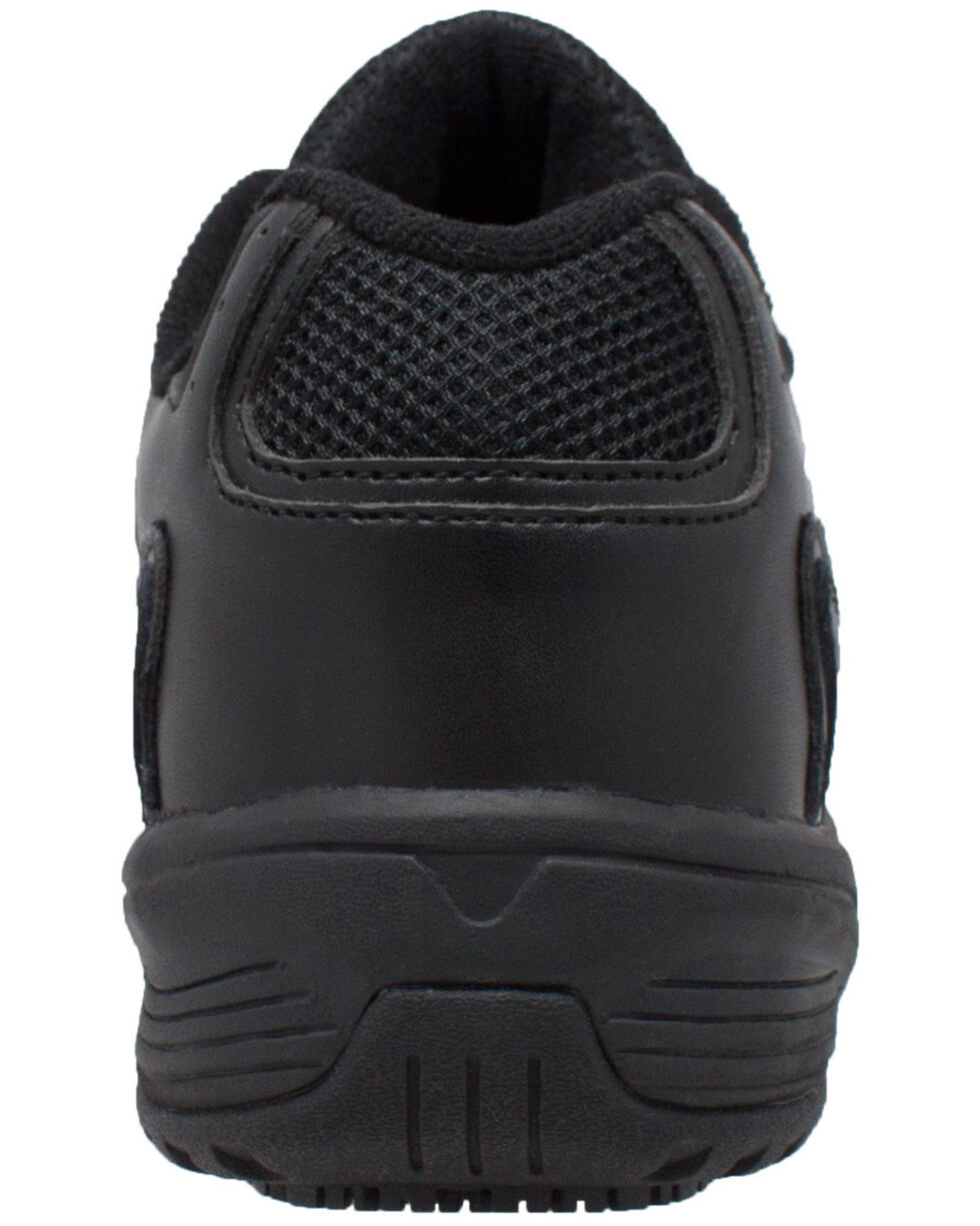 Ad Tec Women's Athletic Uniform Work Shoes - Composite Toe, Black, hi-res