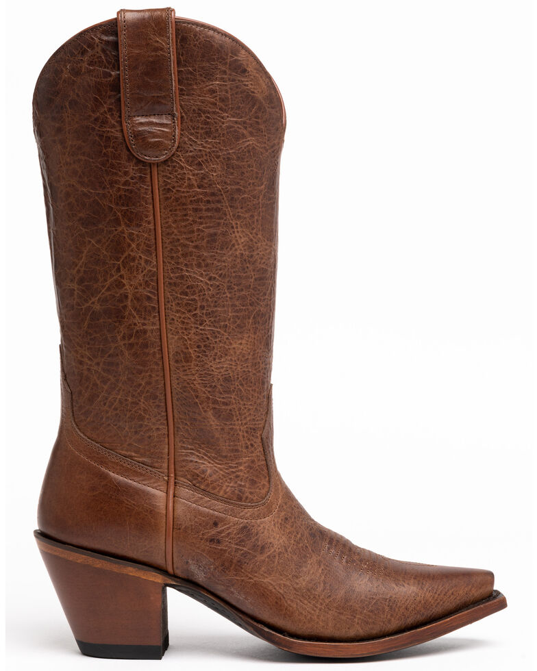 Shyanne Women's Trish Western Boots - Snip Toe, Brown, hi-res