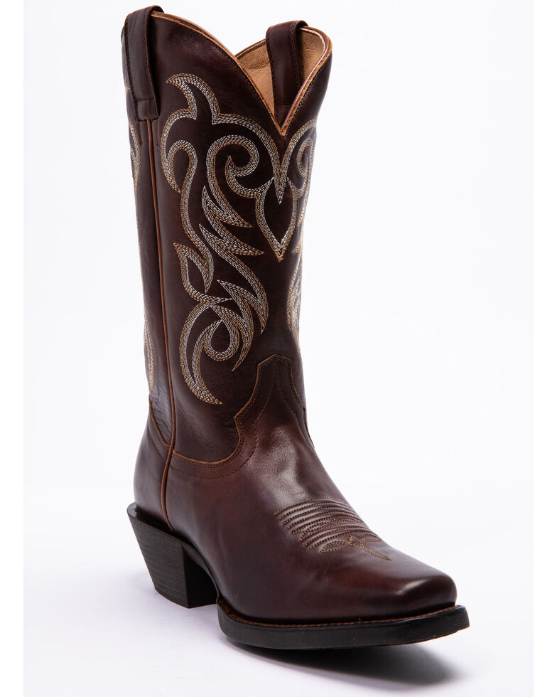Shyanne Women's Xero Gravity Surrender Western Boots - Snip Toe, Brown, hi-res