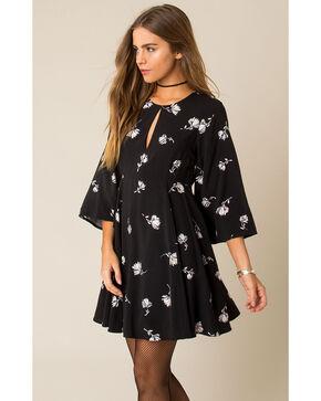 Others Follow Women's Black Love Potion Dress , Black, hi-res