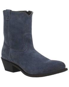 Dingo Men's Bucktown Western Boots - Round Toe, Medium Blue, hi-res