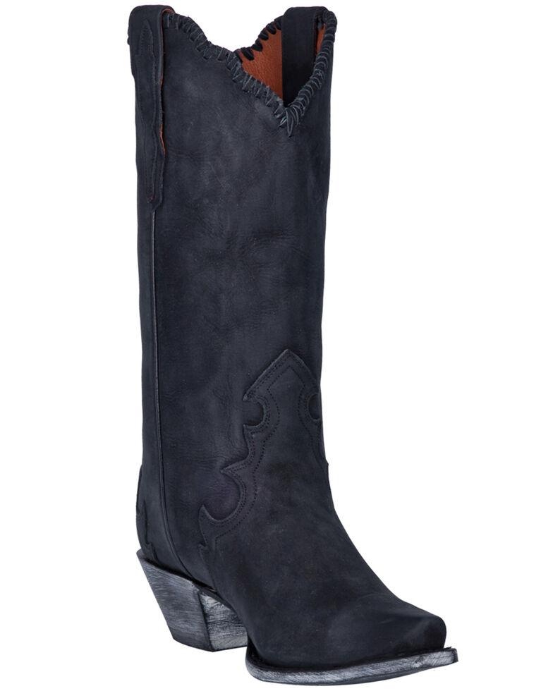 Dan Post Women's Denise Western Boots - Snip Toe, Black, hi-res