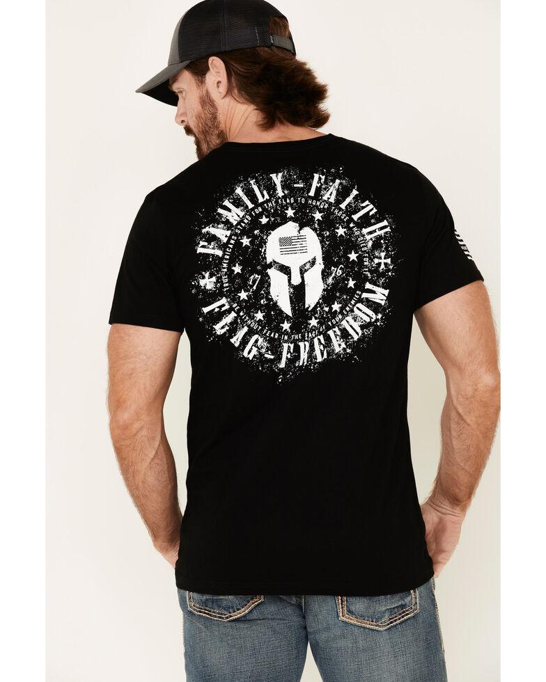 Howizter Men's Family Faith Graphic Short Sleeve T-Shirt , Black, hi-res