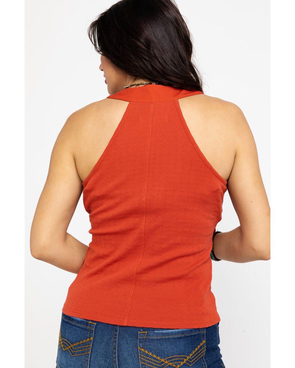 Idyllwind Women's Tied Up Tank, Red, hi-res