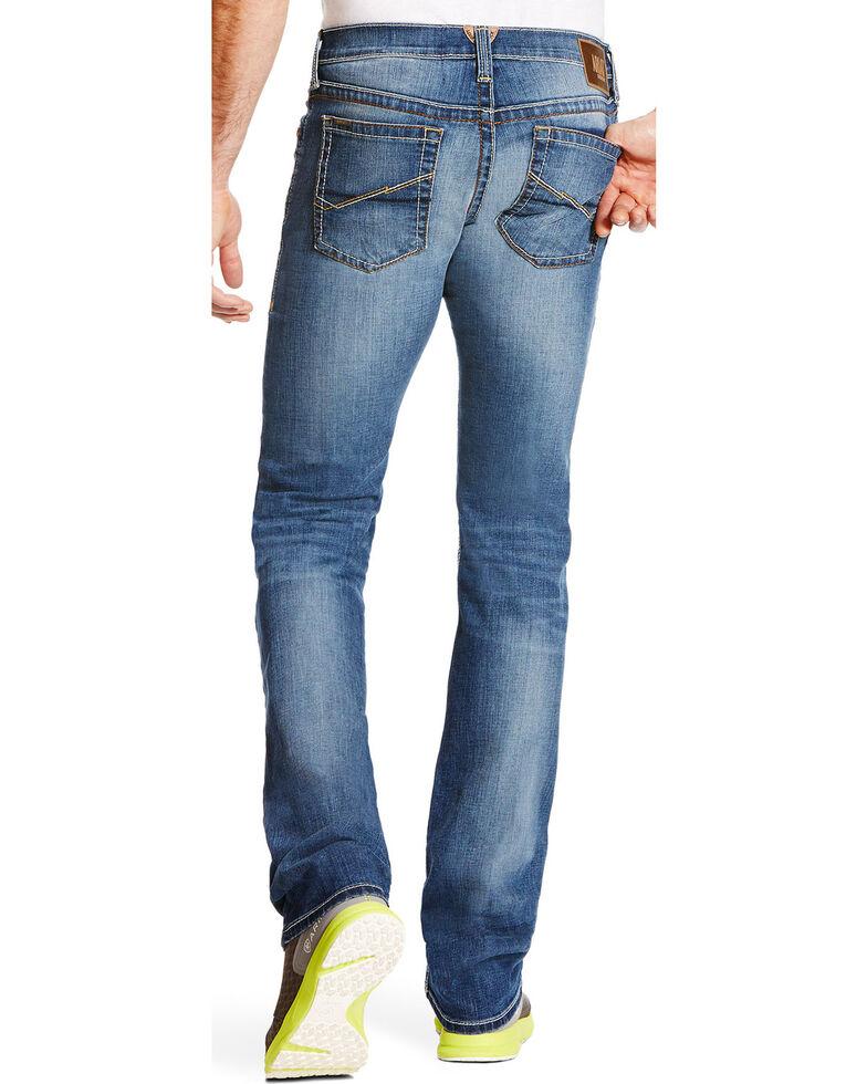Ariat Men's M7 Rocker Chapman TEKStretch Straight Leg Jeans, Blue, hi-res