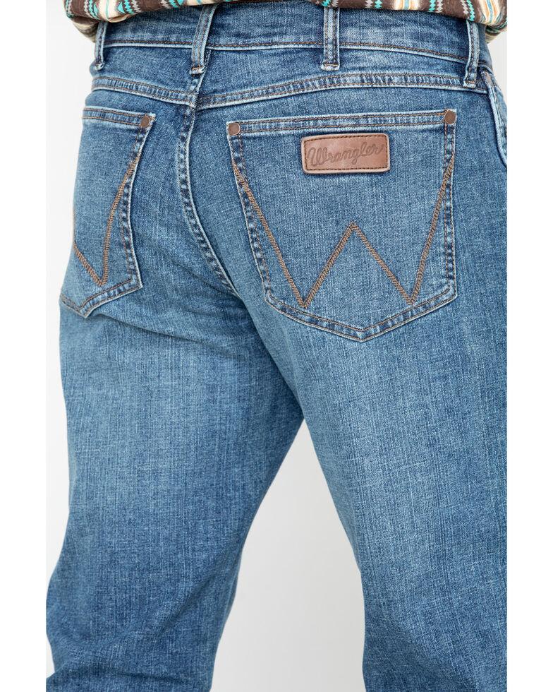 Wrangler Retro Men's Panola Long Relaxed Bootcut Jeans , Blue, hi-res